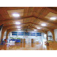 Eckel Orchestrates Sound Solution for Great Salt Bay School Gym image