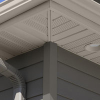 Aluminum Roof Soffit and Fascia image