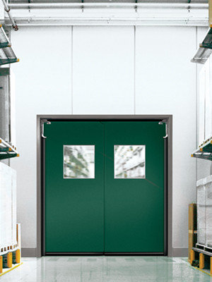 Eliason Corp Easy Swing Door Div Commercial Double