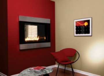 Gas Fireplace - Direct-Vent - See-Through