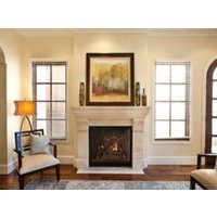 Gas Fireplace - Direct-Vent - Luxury Traditional Clean-Face - 36/42-inch image