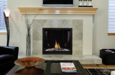 Gas Fireplace - Direct-Vent - Premium Contemporary Clean-Face - 32/36/42-inch
