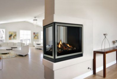 Gas Fireplace - Direct-Vent - Premium Peninsula Clean-Face - 36-inch