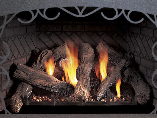 Direct-Vent Fireplace Insert - Innsbrook Traditional