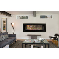 Gas Fireplace - Direct-Vent Linear See-Through Contemporary 48-inch image