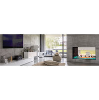 Plaza 55 Barrier Glass Fireplace image