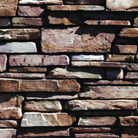 Elk Horn - Grouted Ledge Stone image