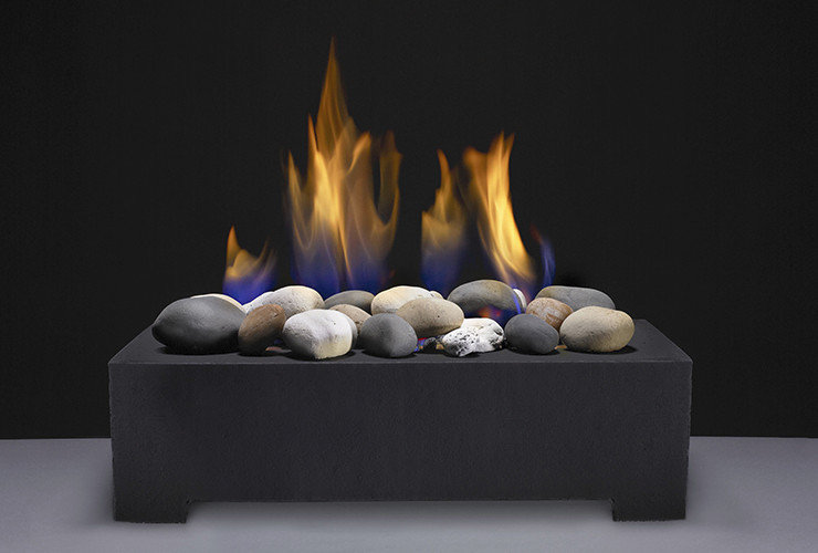 Modern Gas Log Set Alternative by Gavin Scott