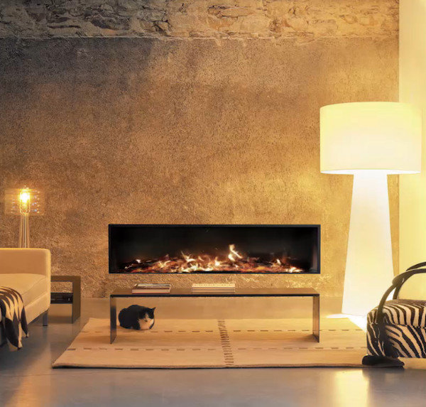 Modern Wood Fireplace by Focus Fires