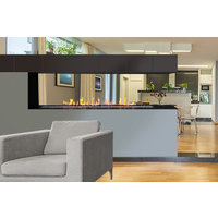 European Home image | H Series Peninsula Vent-Free Gas Fireplace