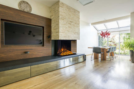 Electric Fireplace by European Home