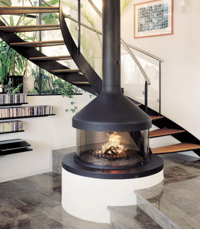 Modern Gas Fireplaces by Focus