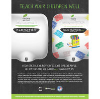 Green Apple cover option for educational facilities with portion of  proceeds donated to USGBC  image