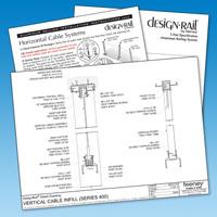 DesignRail® Downloadable Detail Drawings & 3-D Models image