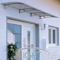 Lightline® Curve Style Door Canopy image