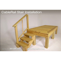 CableRail Installation Video (stair railings) image