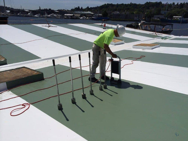Induction Welded Roofing System