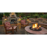 Outdoor Round Fire Pit image