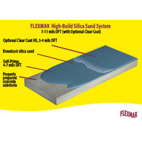 Flexmar 2-Coat High-Build Solid Broadcast Silica Sand  Color System image