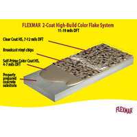 Flexmar 2-Coat High-Build Color Flake System image