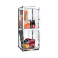 Galvanized Welded Wire Storage Lockers image