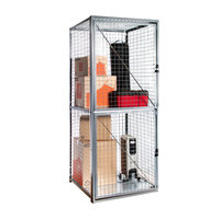 Framed Welded Wire Storage Lockers image