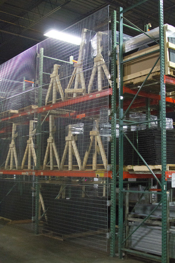 Pallet Rack Backing System