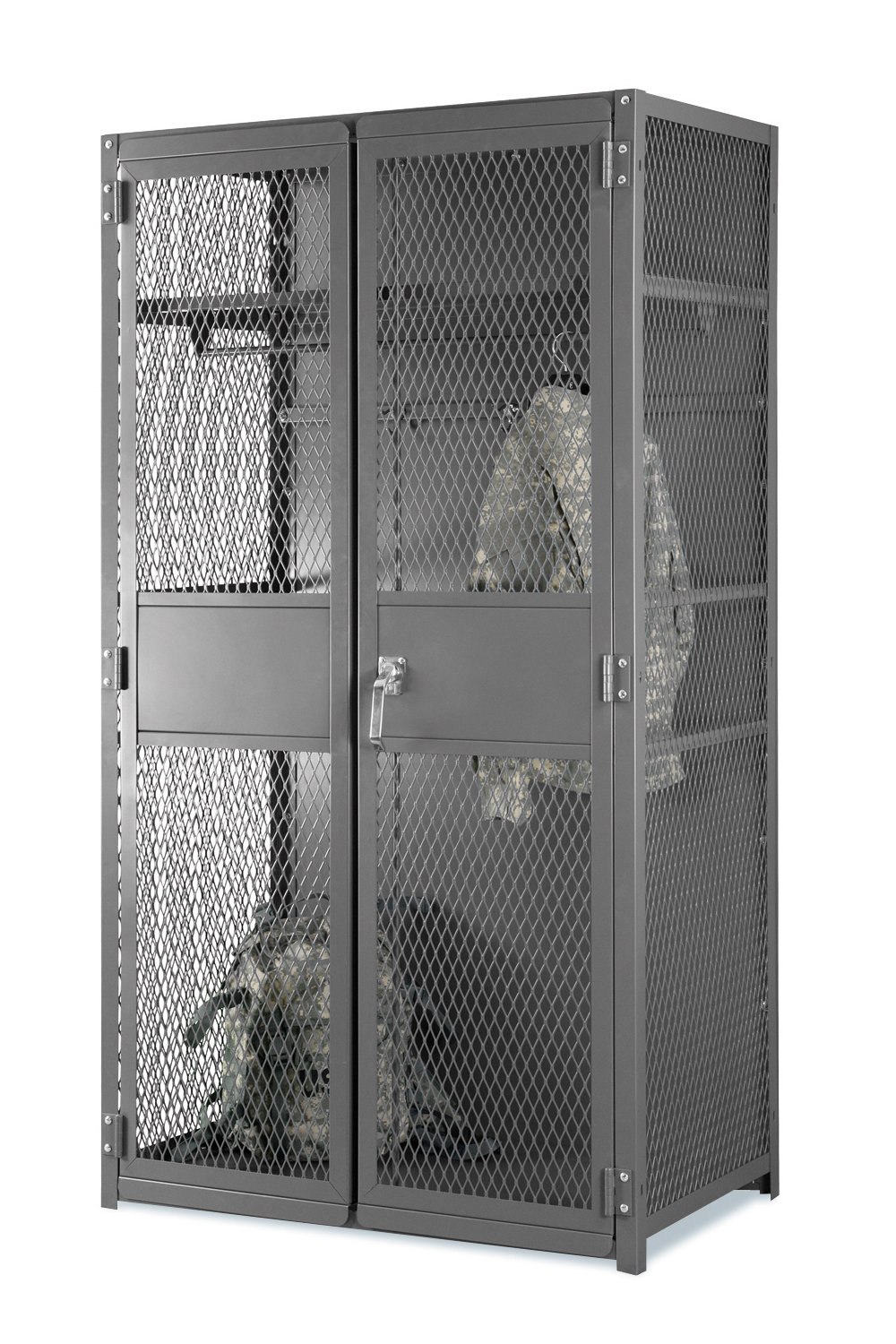 Expanded Metal TA-50 Military Locker