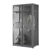 Folding Guard image | Expanded Metal TA-50 Military Locker