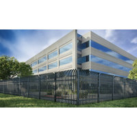 High Security Steel Fencing: ARES™ image