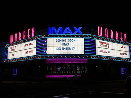 Marquee Theaters Letters