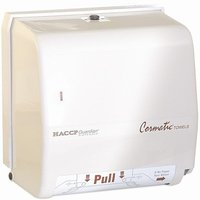 GP Cormatic® HACCP Guardian® White Twist Lock Roll Towel Dispenser image