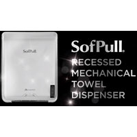 GP SofPull® Stainless Steel Recessed Mechanical Towel Dispenser image