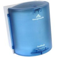 GP SofPull® Splash Blue Regular Capacity Centerpull Dispenser image