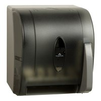 GP Georgia-Pacific® Translucent Smoke Push Paddle Roll Paper Towel Dispenser image