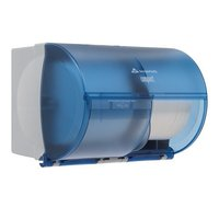 GP Compact® Splash Blue Side-By-Side Double Roll Bathroom Tissue Dispenser image