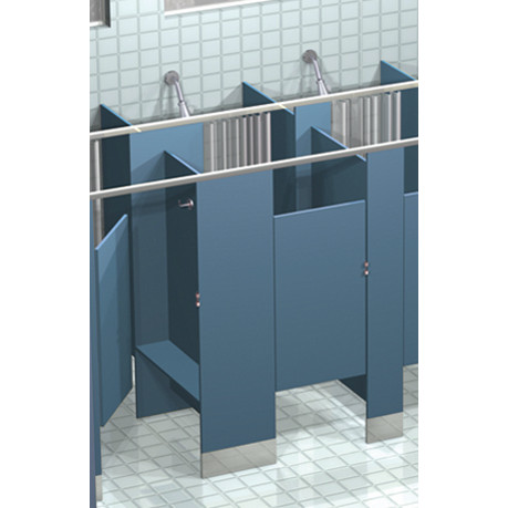 Shower Dividers and Dressing Booths