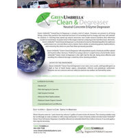 Green Umbrella Systems image | Green Umbrella™ Green Clean & Degreaser