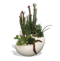 Large River Rock Zen Planter image