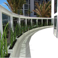 Salon Fiberglass Narrow Planter Box image
