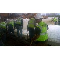 Concrete Pavement Rain Protection Sheets image