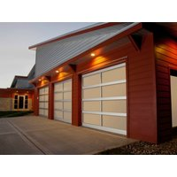 Full View Aluminum Garage Door image