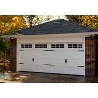 Insulated Steel Garage Door image