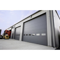 Commercial Insulated Steel Garage Door image