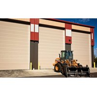 Commercial Ribbed Steel Garage Door image