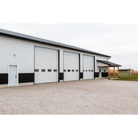 Commercial Insulated Aluminum Garage Door image