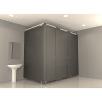 NEW: Enhanced Privacy Toilet Partitions image