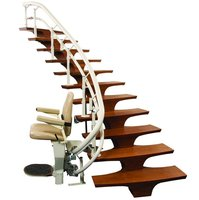 CSL500 Helix Curved Stair Lift image