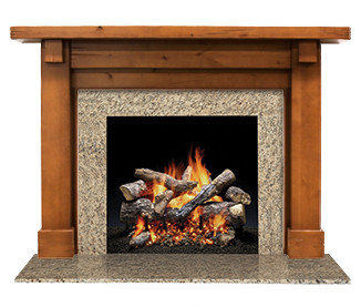 Heatilator fireplaces inserts mantels surrounds for Beauty stone fireplaces