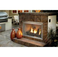 Gas Outdoor Fireplaces - Traditional image